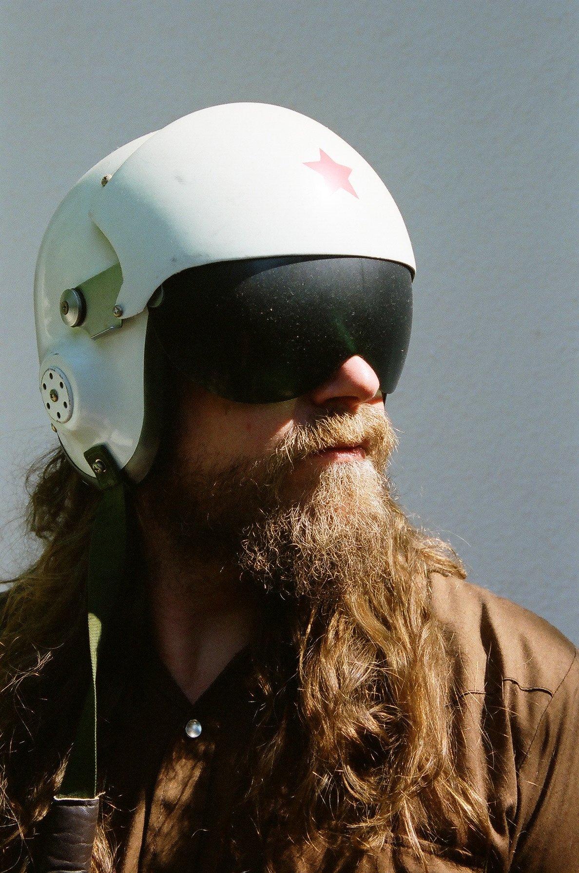 WB helmet