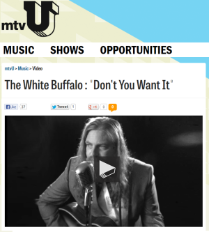 """Don't You Want It"" video premier on mtvU.com"
