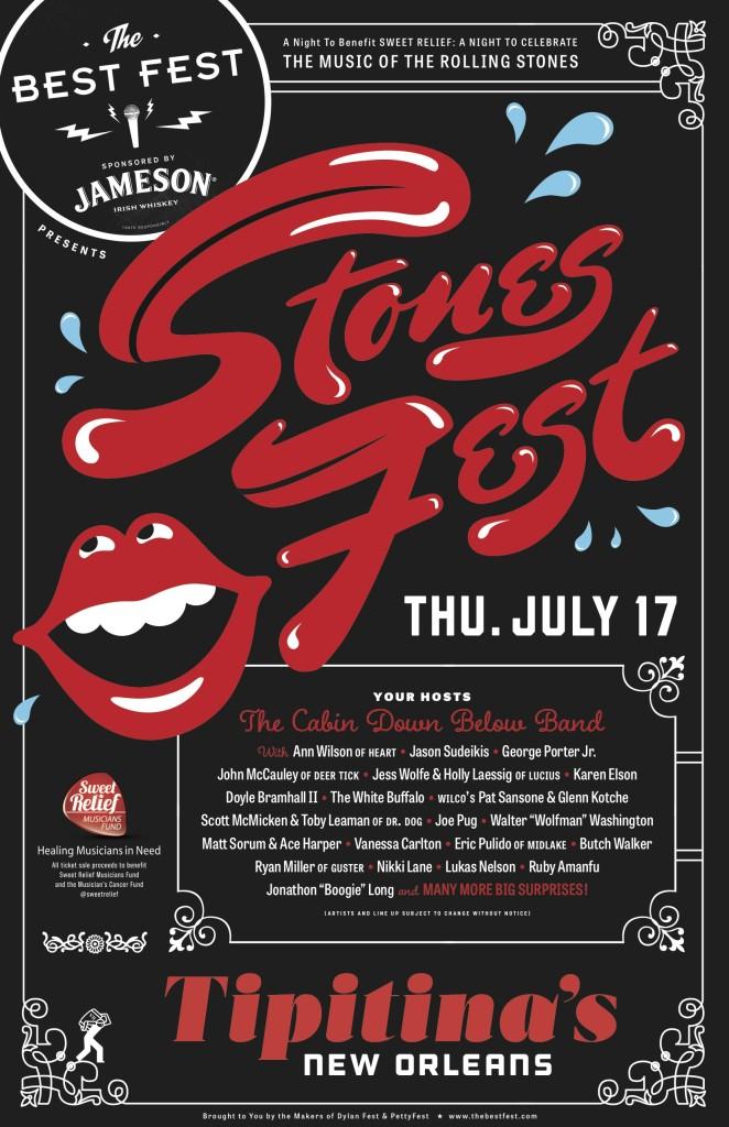 Stones Fest New Orlenas