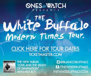 The White Buffalo Fall 2015 Tour!