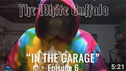 "THE WHITE BUFFALO – ""Nightstalker Blues"" – In The Garage: Episode 6"
