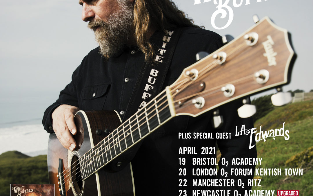 THE WHITE BUFFALO POSTPONES UK/EU TOUR TO SPRING 2021